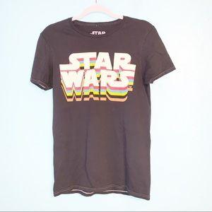 Star Wars Black Graphic Unisex T-Shirt